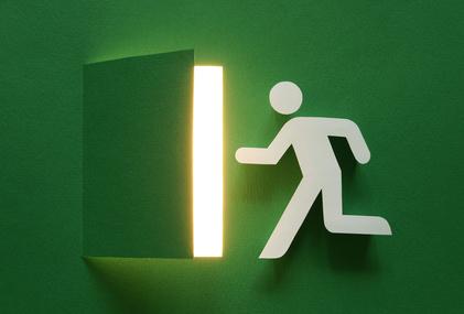 Art emergency exit