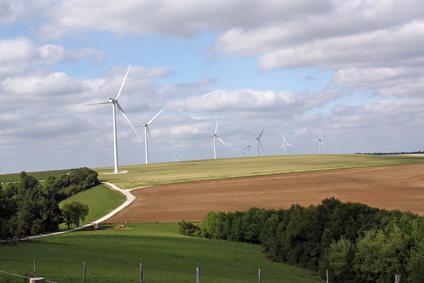 Chemin des éoliennes