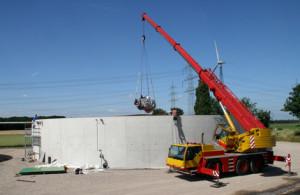 Fermenter, Endlager - Bau Biogasanlage